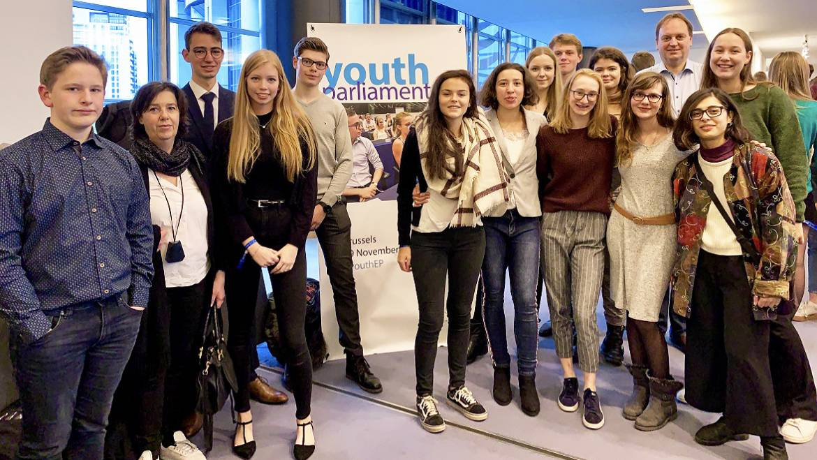 Youth Parliament – Brussels, 19th Nov 2018